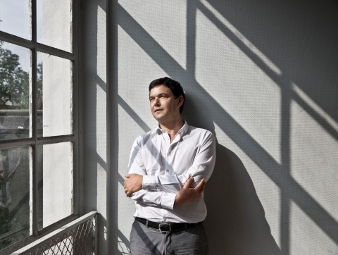 Thomas Piketty, at the Paris School of Economics. French economist who works on wealth income and inequality. He is director of studies at the École des hautes études en sciences sociales and professor at the Paris School of Economics